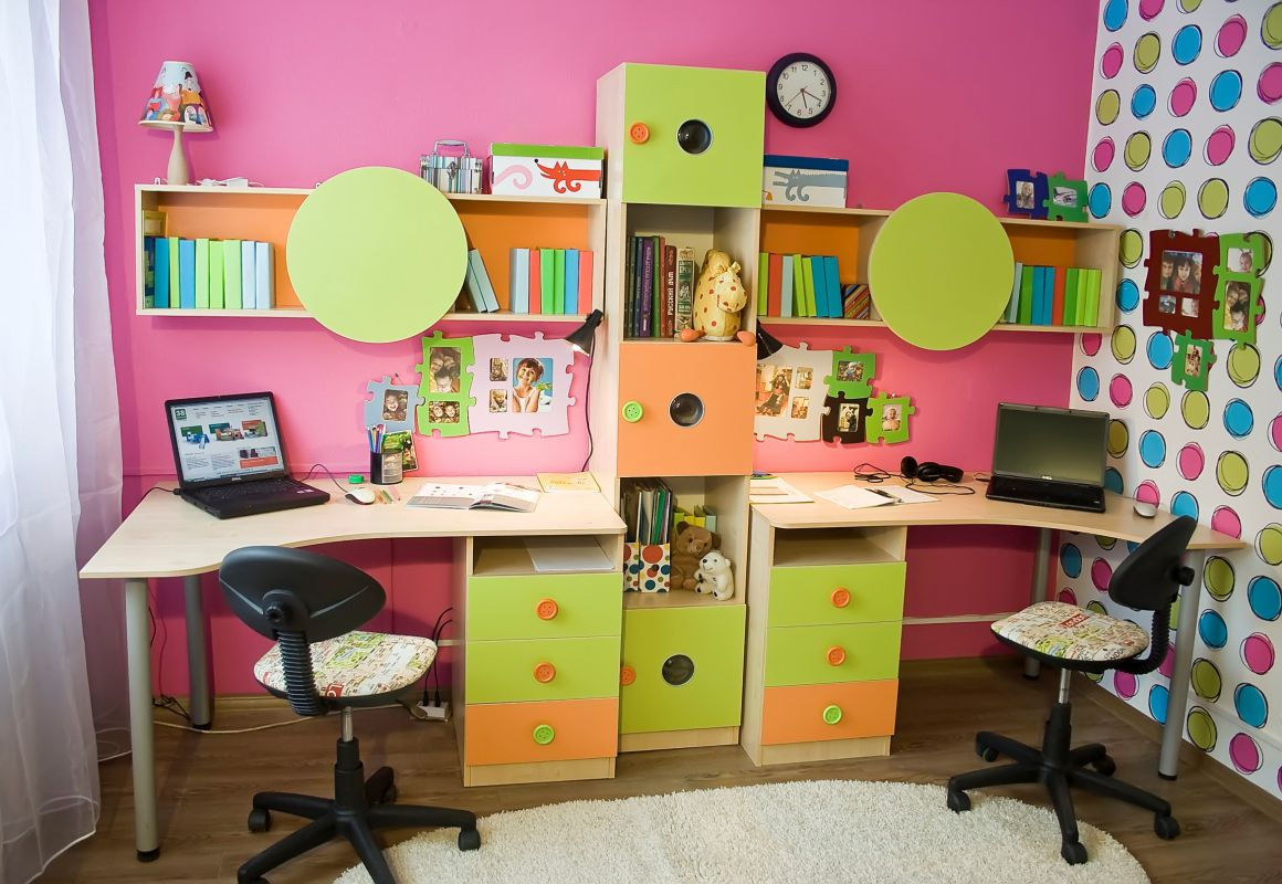 Детская комната Выше радуги 38 попугаев