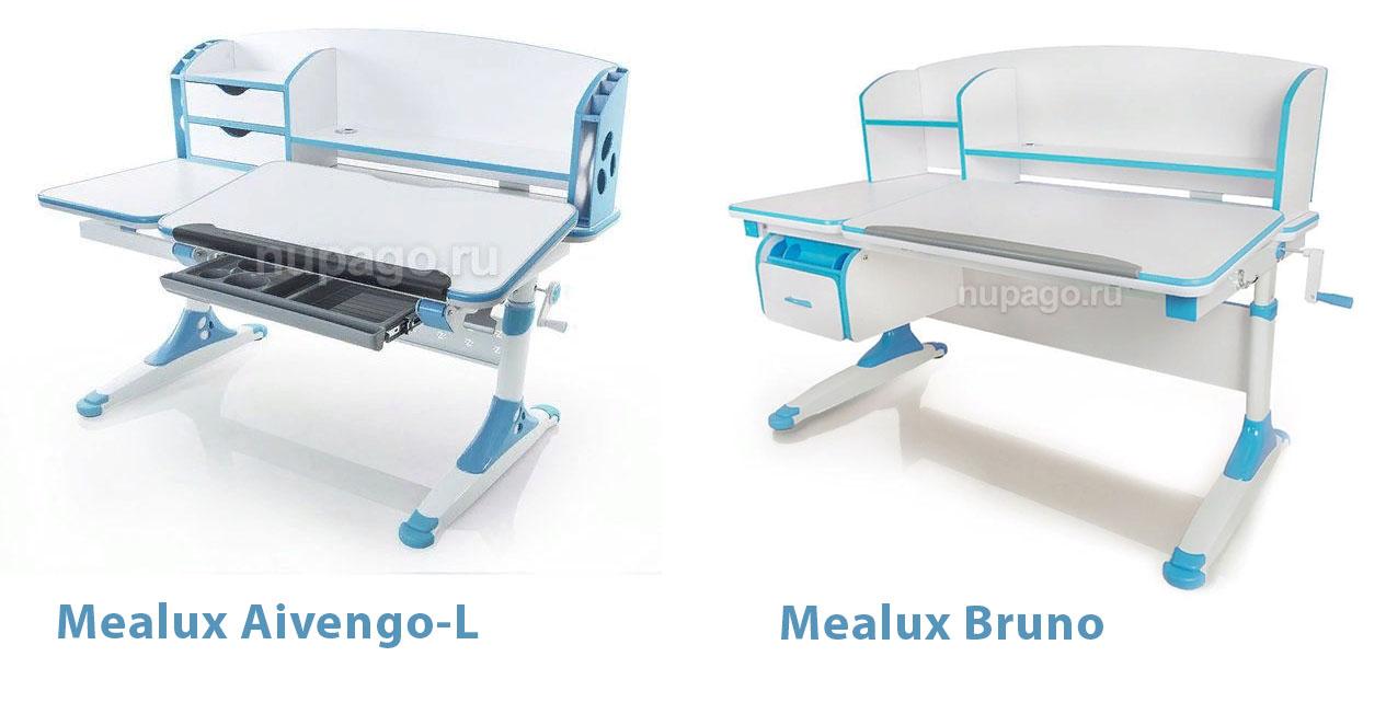 Mealux Aivengo-L илиMealux Bruno - какую парту выбрать?